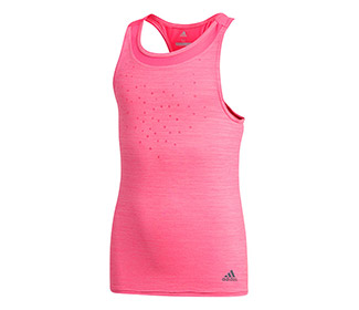 adidas Girls Dotty Tank